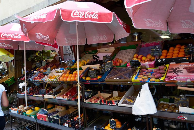 Street market Strasbourg