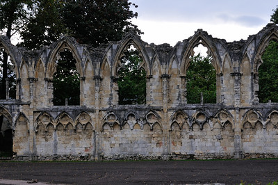 Ruins of St. Mary's Abbey