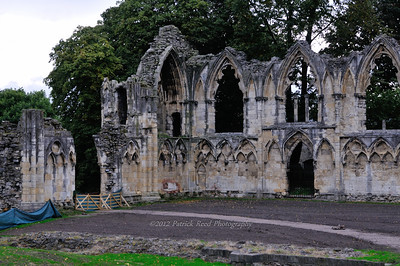St. Mary's Abbey - what's left of it thanks to Henry VIII