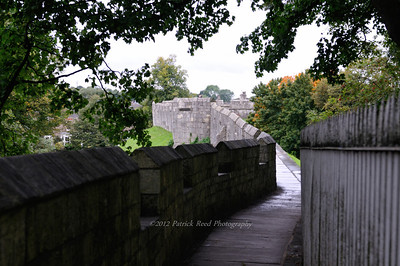 York's nearly complete medieval city walls
