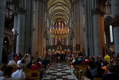 Singing in the Cathedral