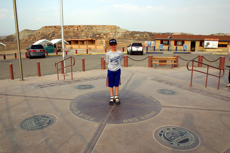 bryce on four corners monument, 2004