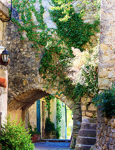 One of the lovely and quite ancient hill villages above and between Nice and Cannes.