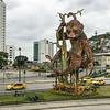 Machin-Monkey Statue