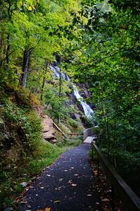 Amicalola Falls Trail.