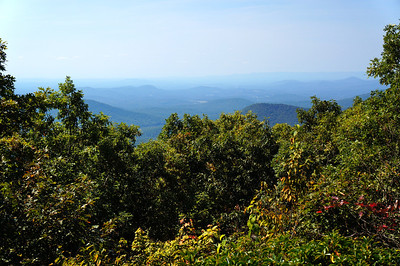 View from the top of Springer, MT. The start of the Appalachian Trail.