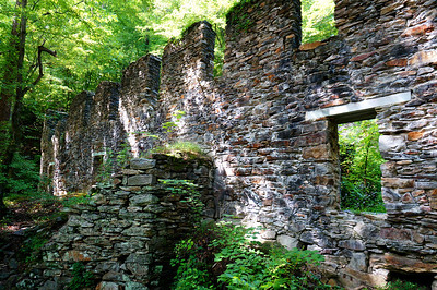 Marietta Paper Mill Ruins at Sope Creek.
