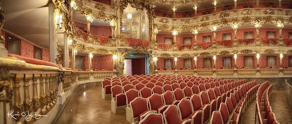 Munich Residenz Cuvillies Theatre