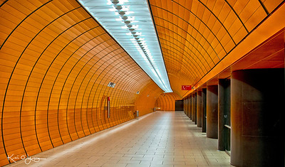 Munich Marienplatz U-bahn platform