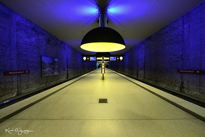 Munich U-bahn station