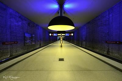 Munich U-bahn station