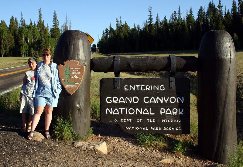north rim -- grand canyon NP