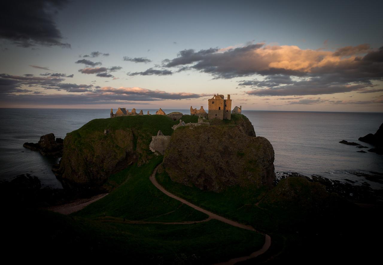 Dunnottar Castle Last Light