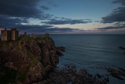 Dunnottar Castle Very Last Light