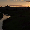 Broad Drove Sunset, Glastonbury Tor
