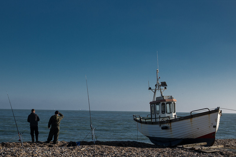 Latest fishing vessel at Dungeness
