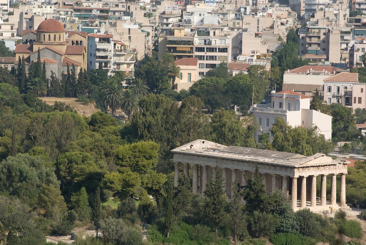Greece Turkey 2007<br /> Temple of Hephaestus