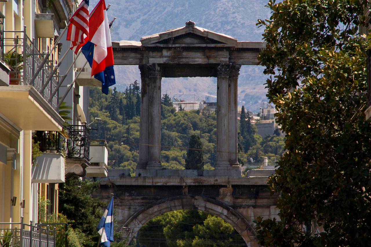 Athens<br /> Hadrian's Arch