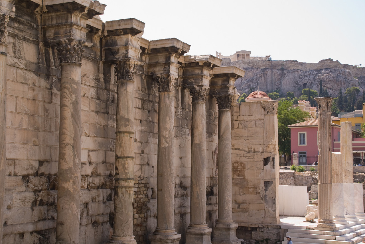 Athens<br /> near the tower of winds