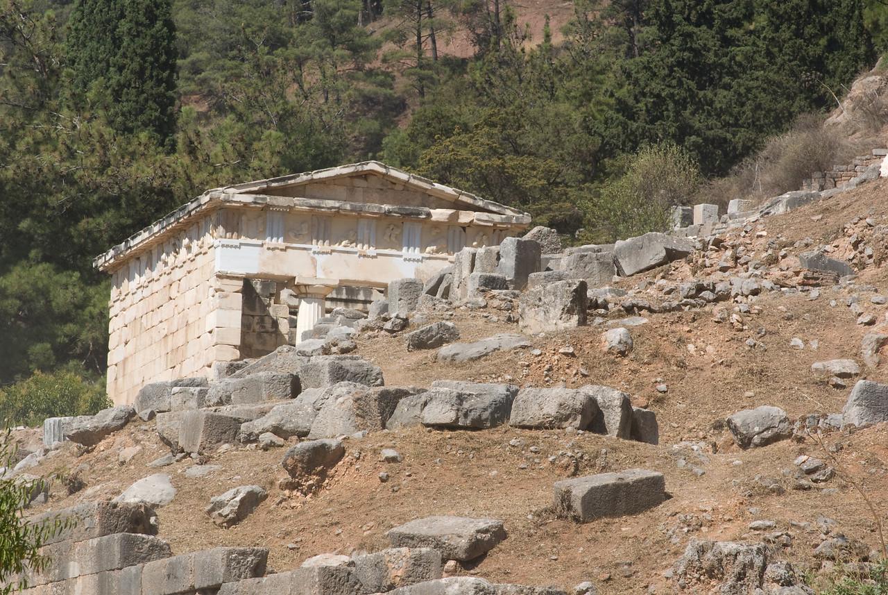 Greece Turkey 2007<br /> Temple of Athena at Delphi