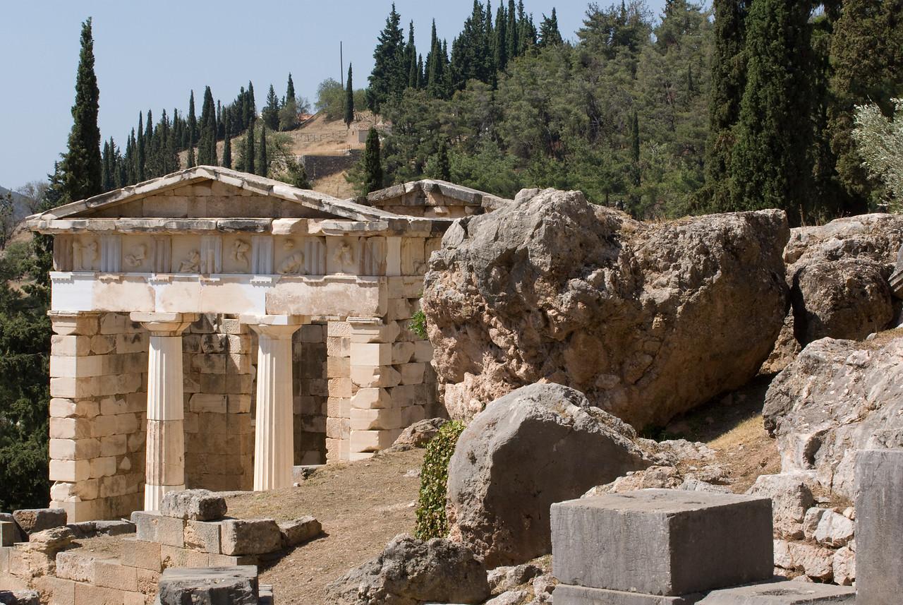 Greece Turkey 2007<br /> temple of Athena Delphi