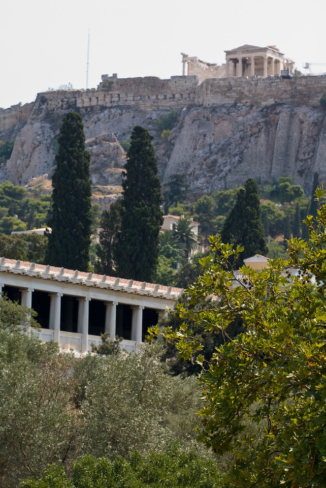 Greece Turkey 2007<br /> Parthenon from the Agora