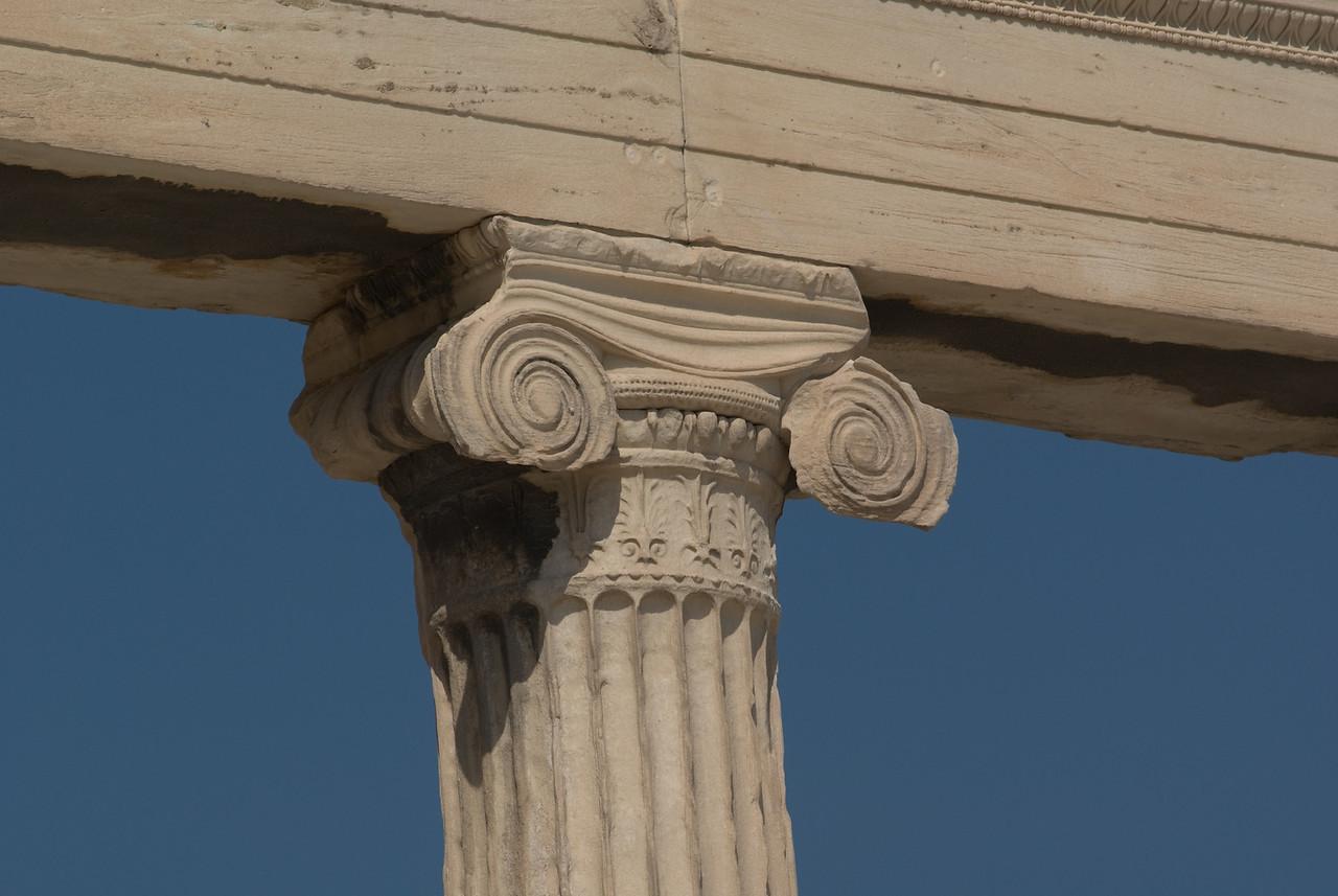 Greece Turkey 2007<br /> ionic column parthenon