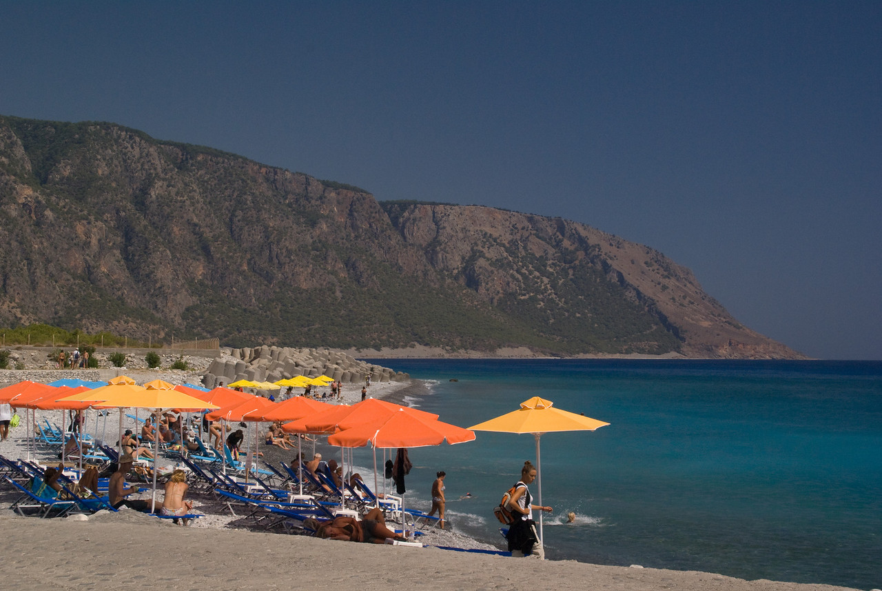 Greek Islands 2007<br /> beach aga romuli