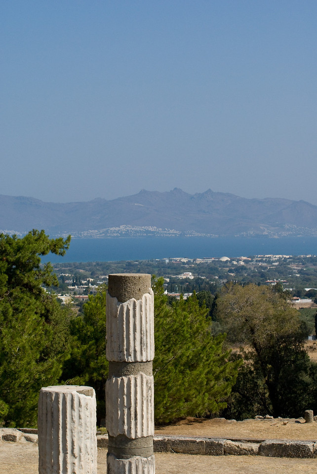 Greek Islands<br /> Kos Aescaplaqeus temple
