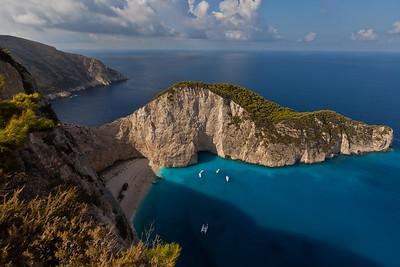Shipwreck cove, Zakinthos