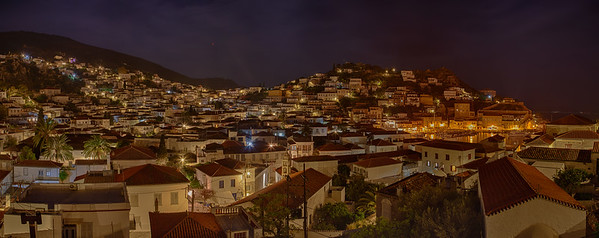 HYDRA AT NIGHT, FROM THE ICONS