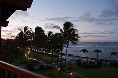 Koloa 4:30 AM Sun Rising