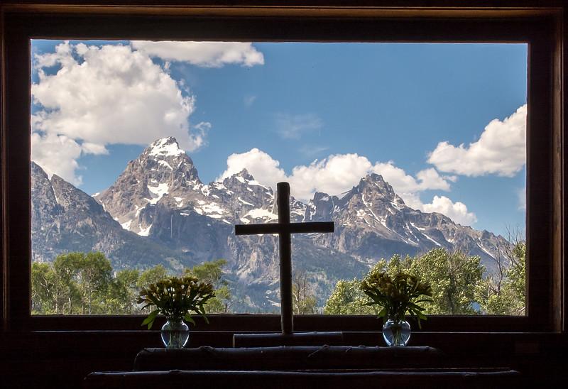Chapel of the Transfiguration, Yellowstone WY
