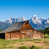 Barn on Mormon Row, Grand Tetons, WY