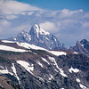 Grand Teton Peak from Rendezvous Mountain Peak.