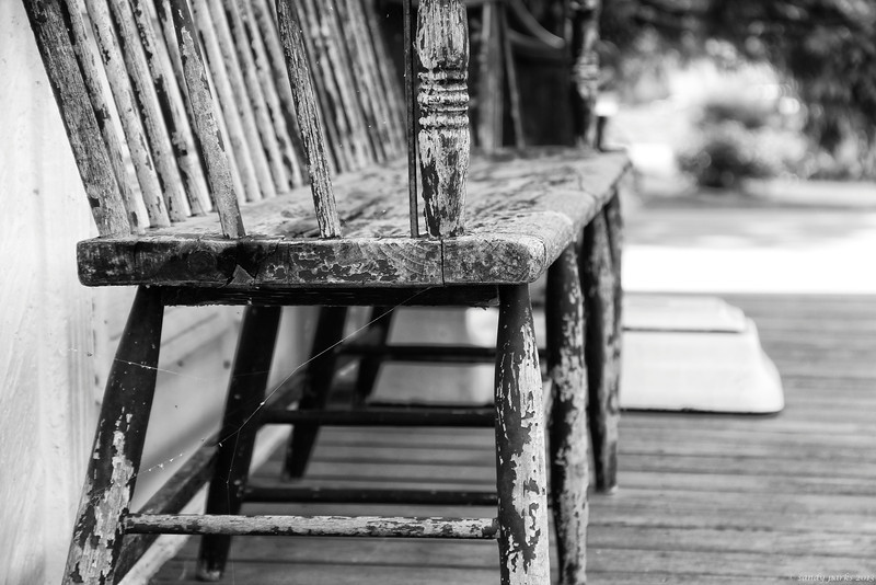 Old bench. McDowell.