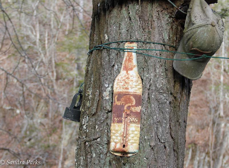 A neighbors cabin, @ Thelma Dare