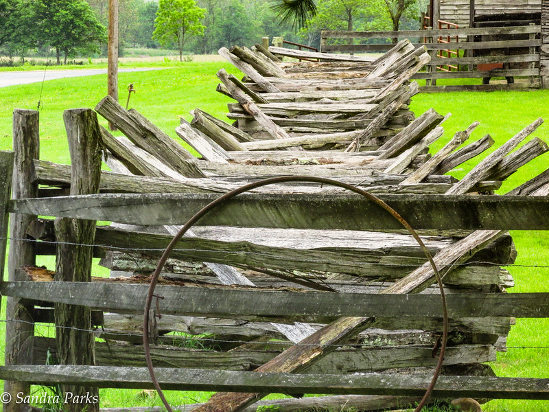 Fence, McClung Farm