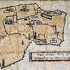 Tile map of Jerusalem at the time of Jesus.