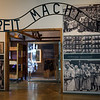 Entrance to Auschwitz Area