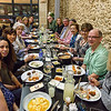 Tour group at our welcome dinner