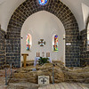 Inside the Church of the Primacy of Saint Peter