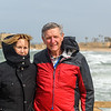 Larry and Kathy at Caesarea