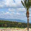 View of  Mt. Carmel from Megido