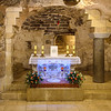 Grotto of the Annunciation, believed by many Christians to be the remains of the original childhood home of Mary.
