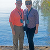 Toma nd Marybeth Williams at the Sea of Galilee