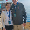 Paul and Brenda McNulty at the Sea of Galilee
