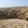 Jerusalem lies about 12.5 miles to the South West visible on the distance hill tops under ideal conditions. Jericho is about 4.5 miles to the North East of this location and visible from the hill tops in what is known as the West Bank and off limits to our tour due to Covad-19.