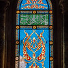 Islamic patterns in the stained glass