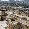 Ruins of a small portion of the City of David.